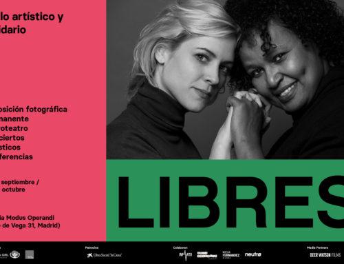 PROGRAMACIÓN DEL CICLO ARTÍSTICO Y SOLIDARIO 'LIBRES' – del 14 de septiembre al 23 de octubre, Galería Modus Operandi.