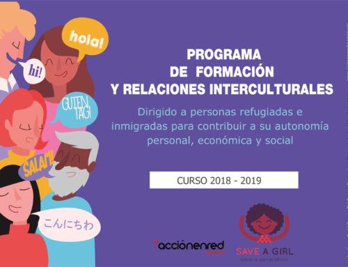 Programa de Formación y Relaciones Interculturales – Curso 2018-2019