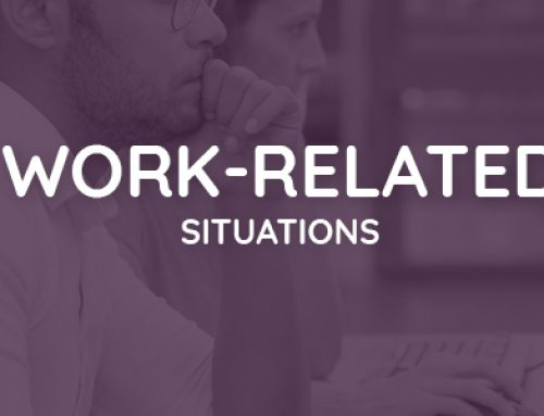 Information on work-related situations